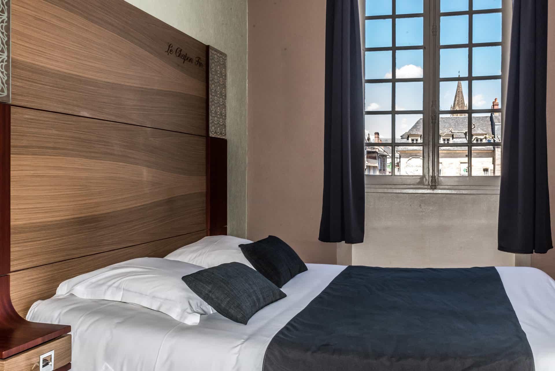 Chambre double hotel Brive
