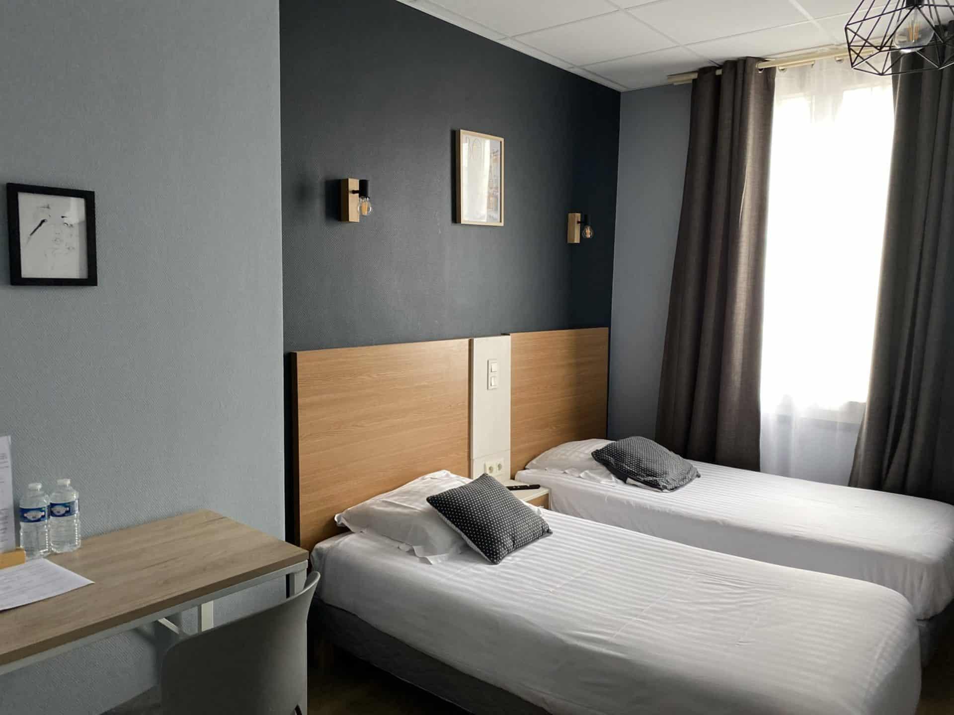 Chambre familiale 16 hotel Brive
