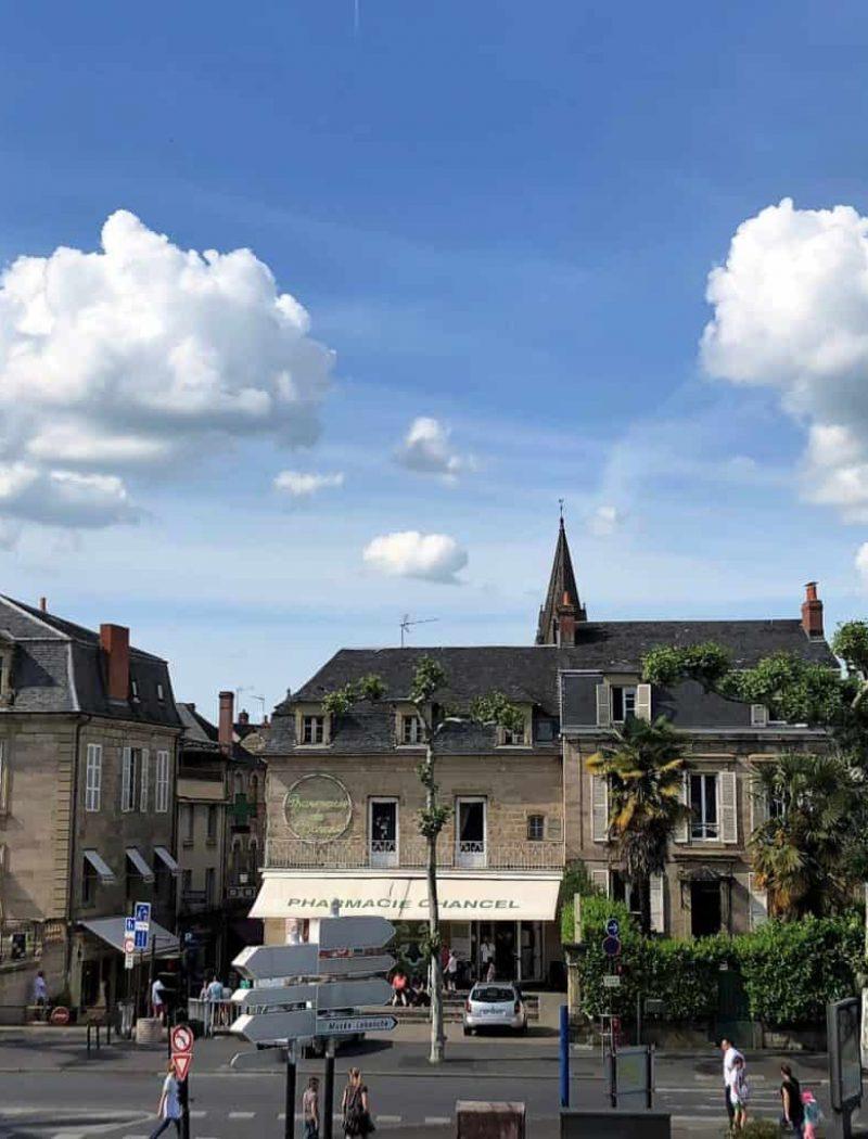 Centre ville Brive la Gaillarde