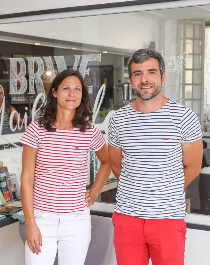Fanny & Rémi - gérants Hôtel La Réserve de Brive